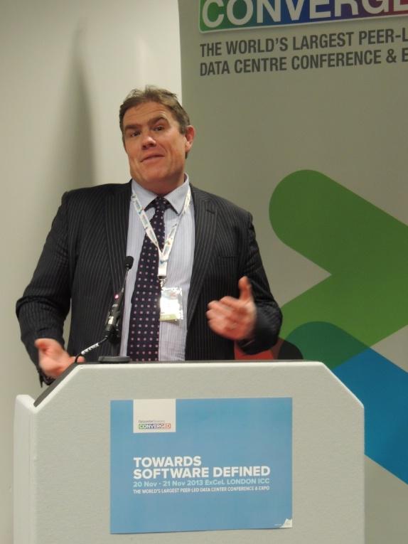 Matt Pumfrey at DCD London