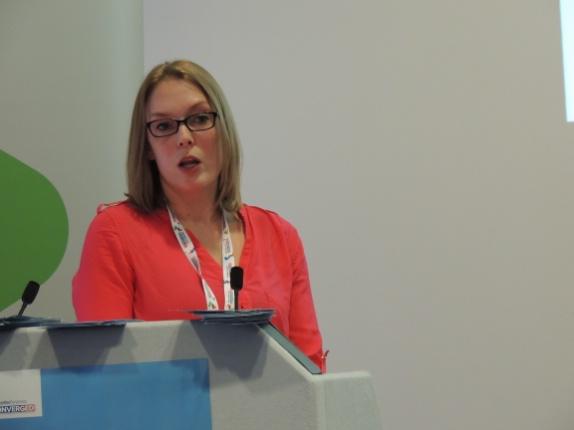 Emily Spink of ARC MC presents BIM4DC at DCD