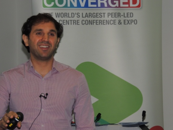 Dr Rabih Bashroush of UEL at DCD Converged London